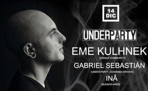 Eme Kulhnek by UNDERPARTY (Club Berlin)